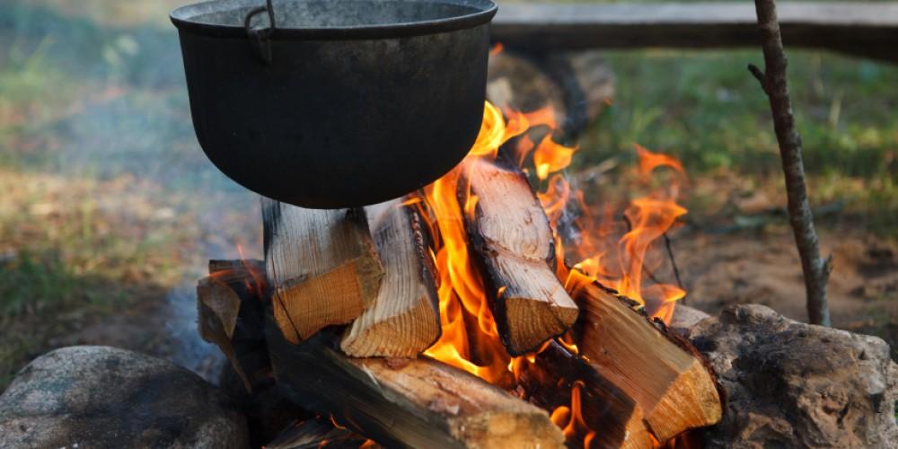 Wood Camping
